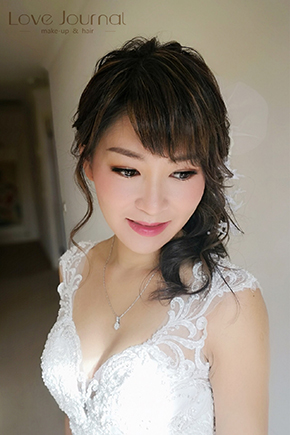 Melbourne bridal make-up & hairstyle